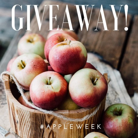 Apple Week is here!  40+ bloggers will bring you 200+ sweet and savory apple recipes all week long. And 7 people will win wonderful prize packs from our sponsors. It's going to be fun!