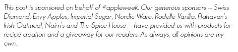 Appleweek disclosure