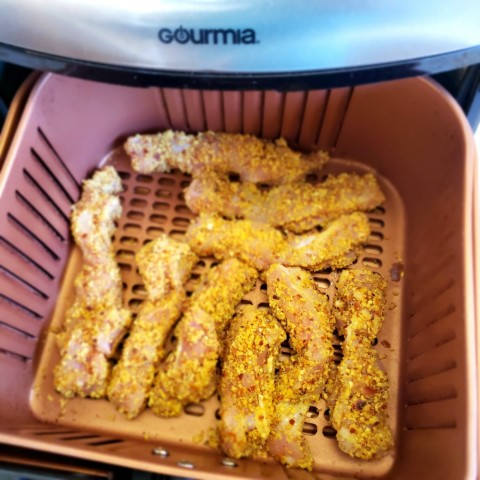 Chicken fingers in the air fryer