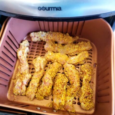 Chicken fingers in the air fryer