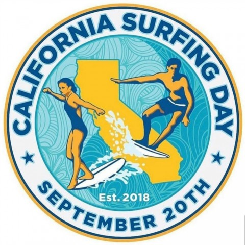 California Surfing Day Sept 20