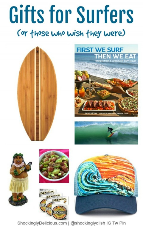 Gifts for surfers or those who wish they were