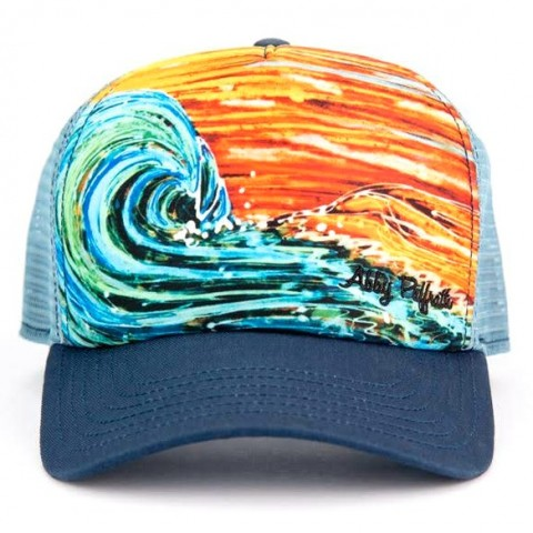 Sunset Surf hat by Abby Paffrath Art-4-All