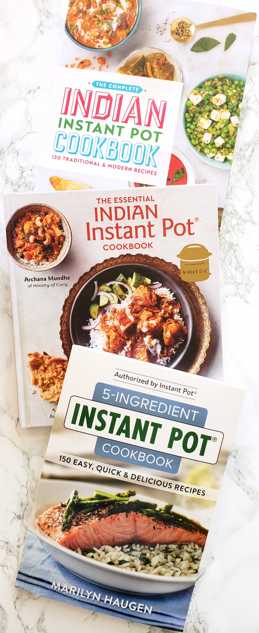 3 Instant Pot cookbooks