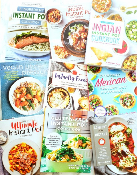 Instant Pot cookbooks on ShockinglyDelicious.com 2018