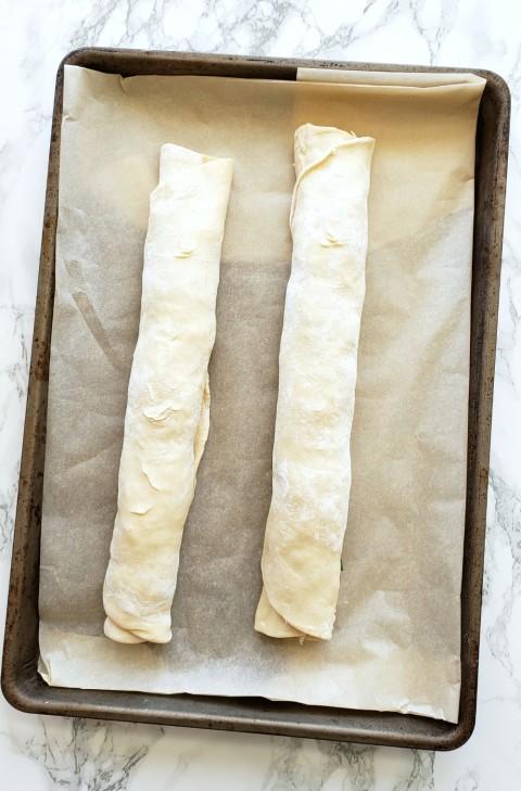 2 rolls of Cheesy Fondue Spirals on ShockinglyDelicious.com