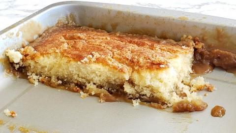 Caramel Sticky Pudding Cake Day 2