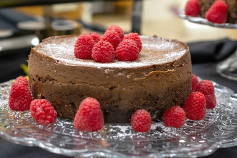 Double Chocolate Fudge Cheesecake Recipe for the Instant Pot on ShockinglyDelicious.com