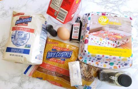 Ingredients for Caramel Sticky Pudding Cake on ShockinglyDelicious.com