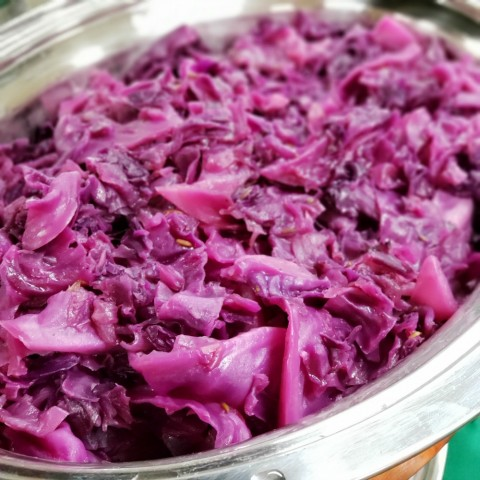 Braised Red Cabbage by Patricia Greenberg on ShockinglyDelicious.com