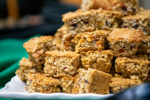 Oat Bran Scones by Patricia Greenberg on ShockinglyDelicious.com