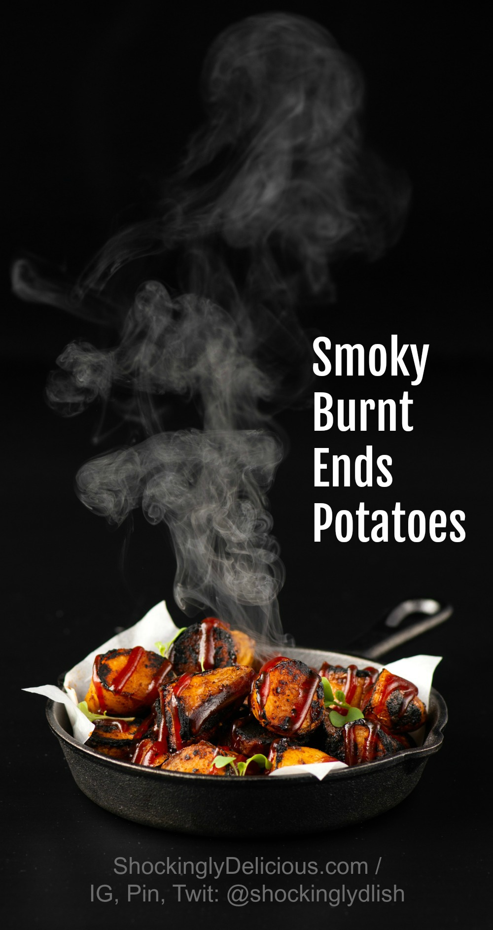 Smoky Burnt Ends Potatoes Pinterest on ShockinglyDelicious.com