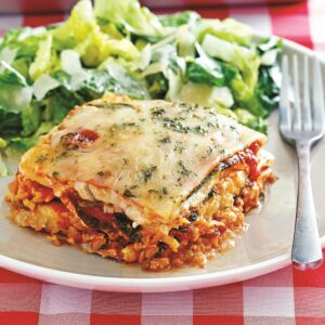 Keto Lasagna with Lunch meat instead of noodles