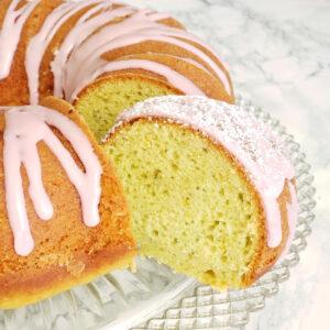 Italian Blood Orange Olive Oil Bundt Cake recipe on ShockinglyDelicious.com