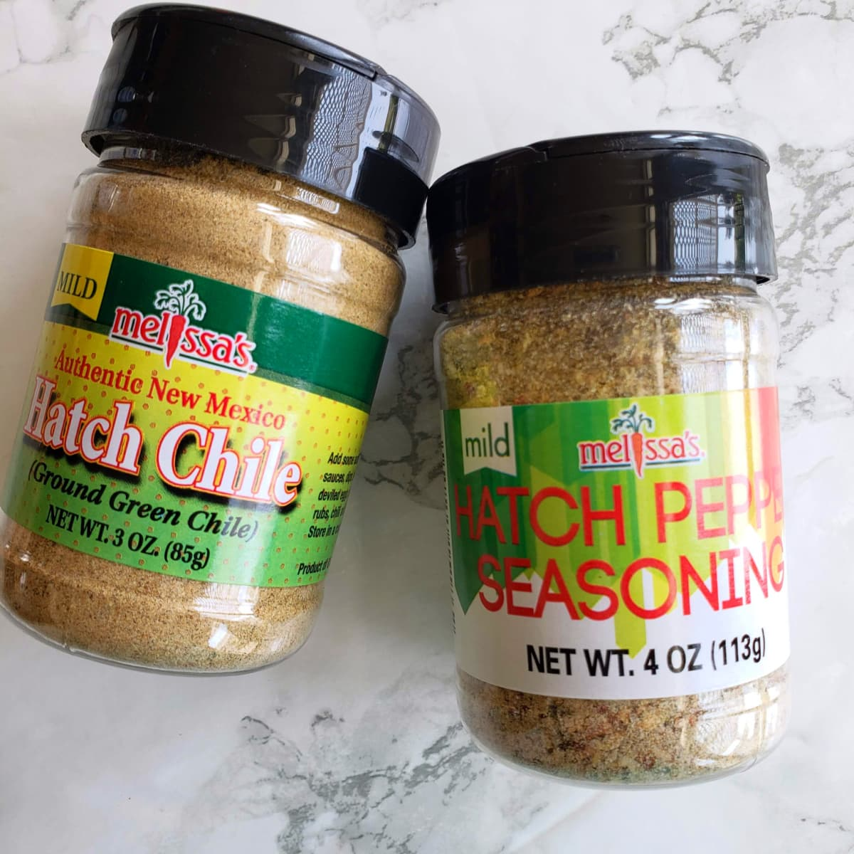 Hatch pepper powder and seasoning from Melissa's Produce
