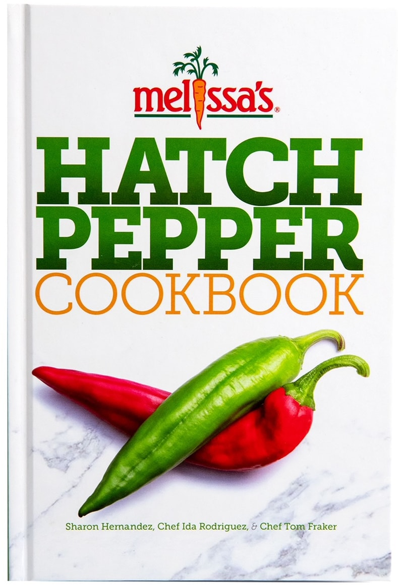 Melissa's Hatch Pepper Cookbook cover